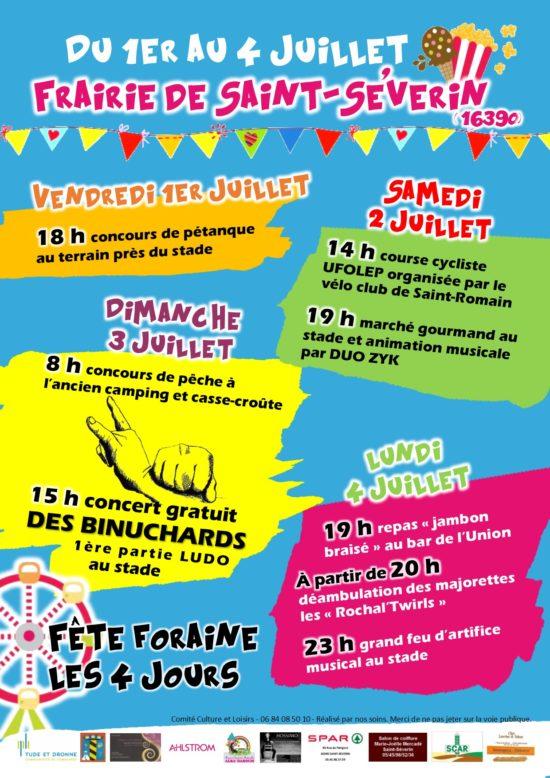 Grande fête à Saint-Séverin