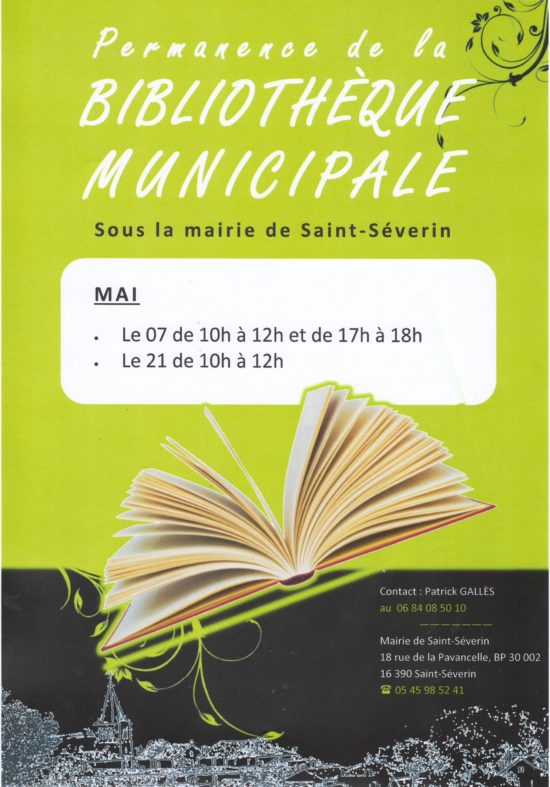 Bibliotheque mai 2015
