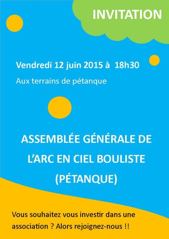 affiche AG 12-06-2015