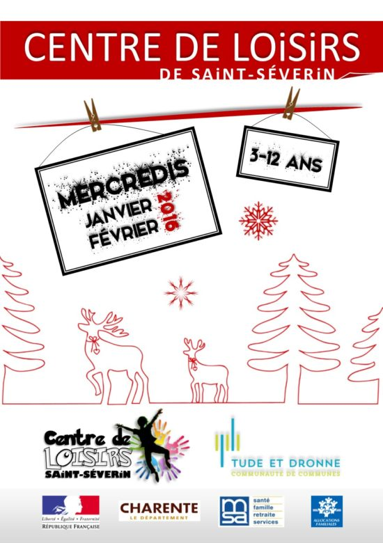 Programme CDL St-Severin MERCREDIS janvier fevrier 2016